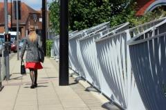 Springline III red skirt